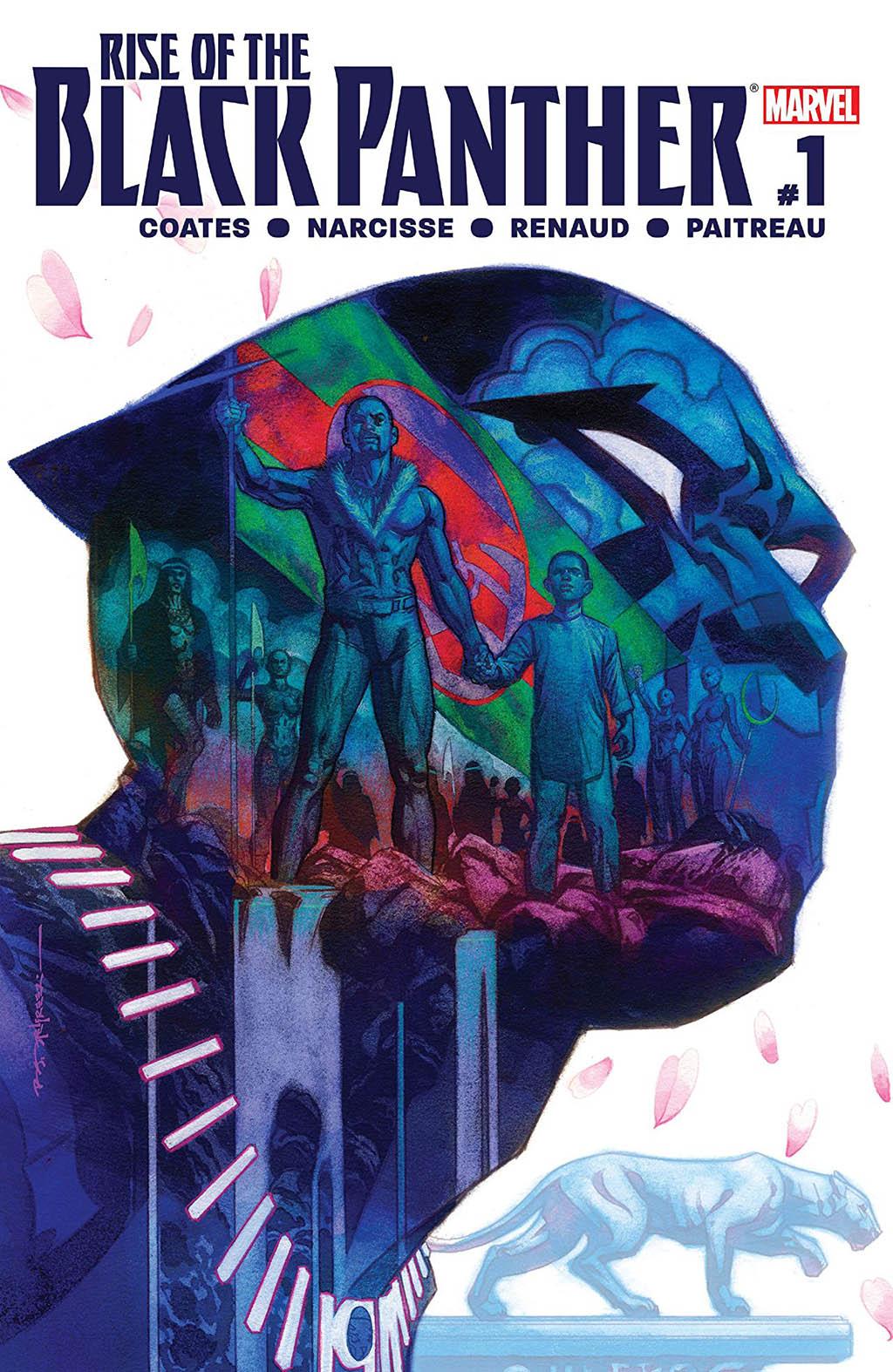 Capa da HQ Rise of the Black Panther #1