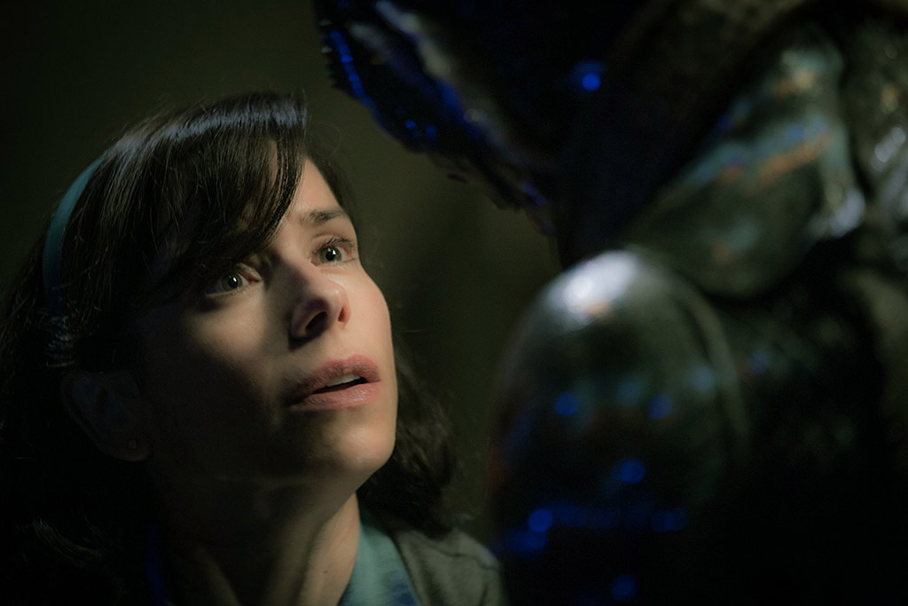 Sally Hawkins e Doug Jones A Forma da Água