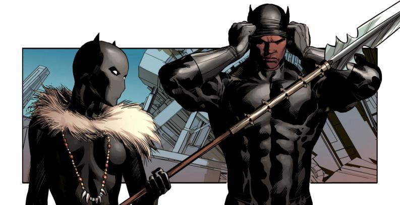 Shuri e T'Challa Pantera Negra