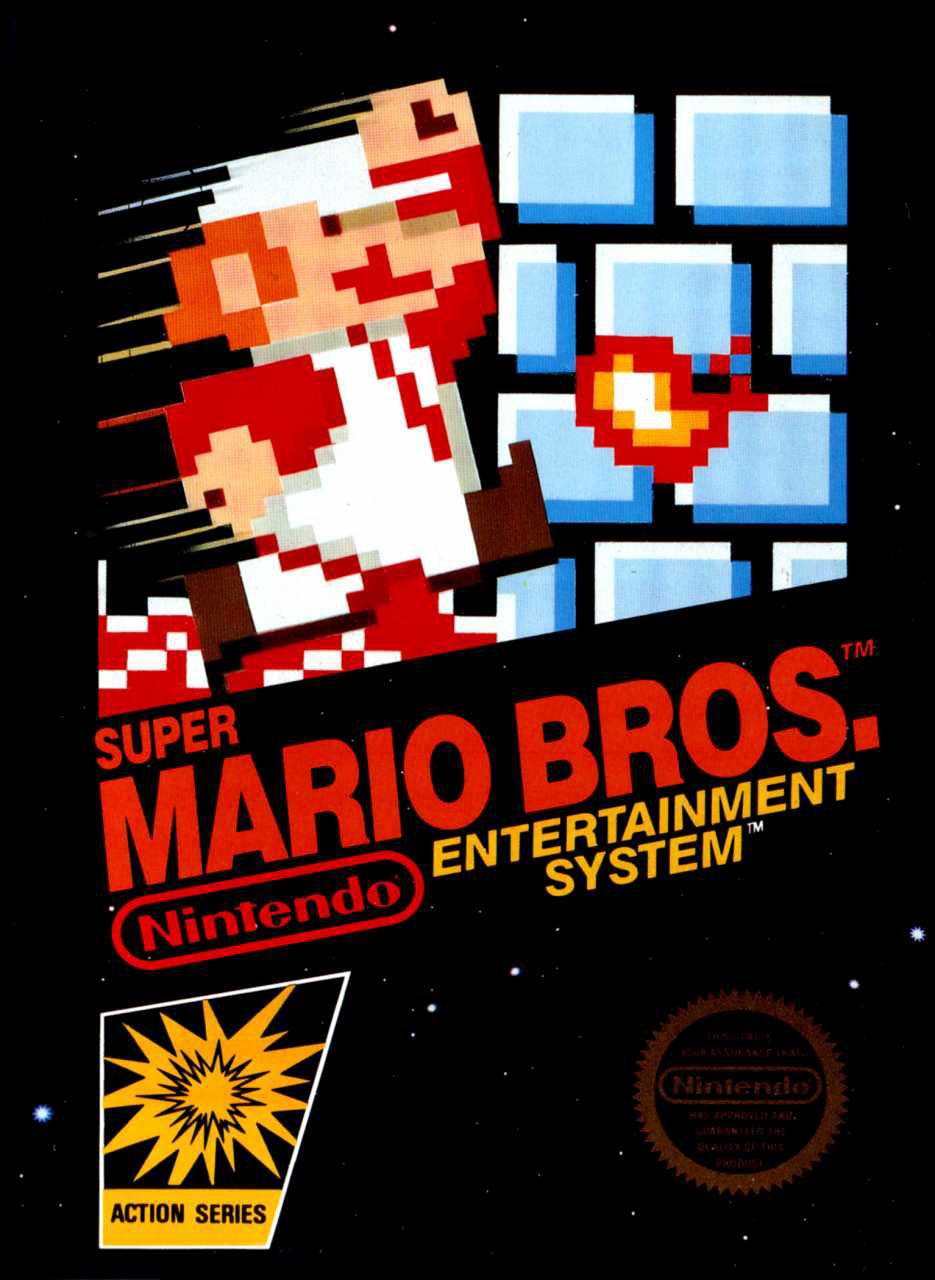 Poster Super Mario Bros.
