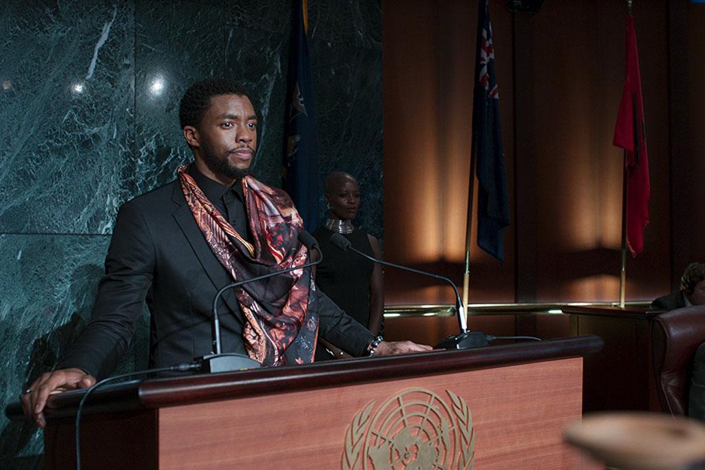 Pantera Negra na ONU - Cena Pós-Créditos