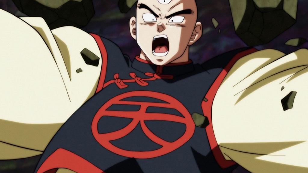 Tenshinhan é eliminado Torneio do Poder ep. 106