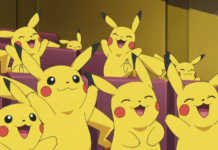 Pikachu Feliz