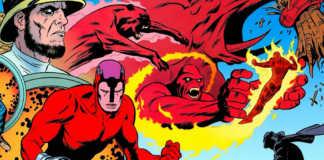 Ulysses Klaw vs Quarteto Fantástico e Pantera Negra