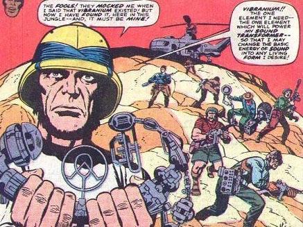 Ulysses Klaw invade Wakanda
