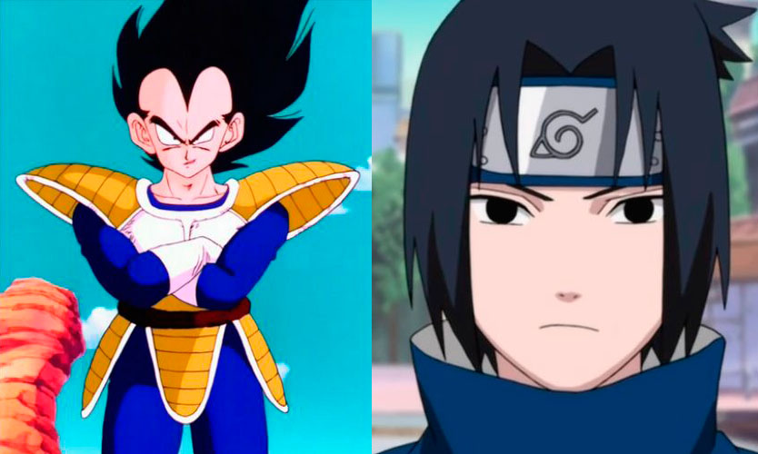 Vegeta Dragon Ball, Sasuke Naruto