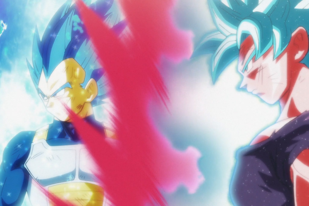 Vegeta e Goku episódio 123 Dragon Ball Super