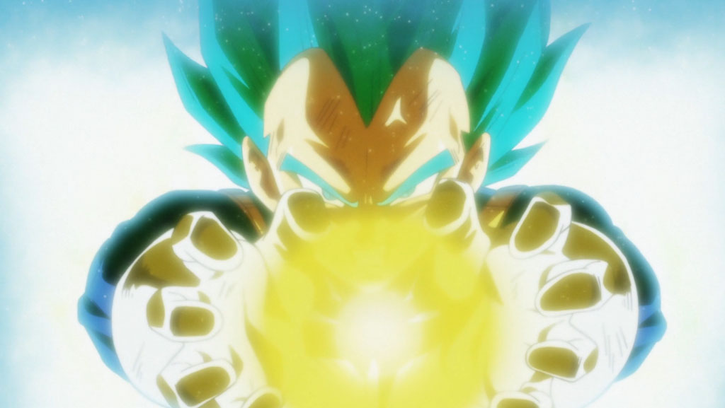 Vegeta Final Flash Dragon Ball Super episódio 122