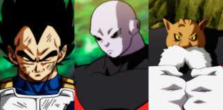 Vegeta, Jiren e Toppo Torneio do Poder Dragon Ball Super