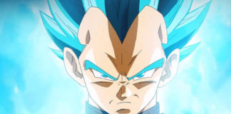 Vegeta Super Saiyajin Blue Dragon Ball FighterZ