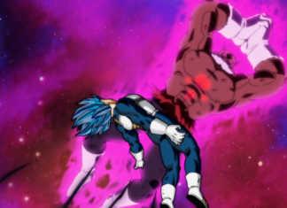 Vegeta vs Toppo Dragon Ball Super episódio 126