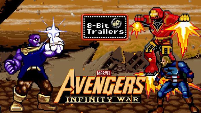 Vingadores: Guerra Infinita 8-bit