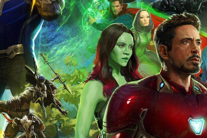 Homem de Ferro Vingadores: Guerra Infinita