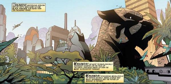Wakanda Origem do Pantera Negra