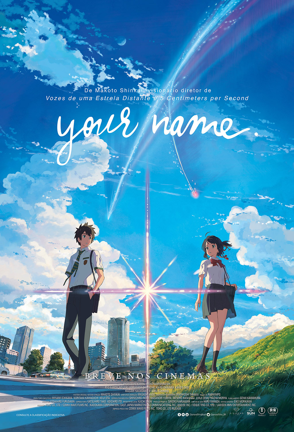 Cartaz Your Name 2016