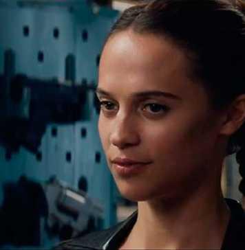 Alicia Vikander em Tomb Raider (2018)