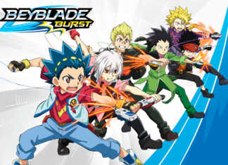 Beyblade Burst personagens