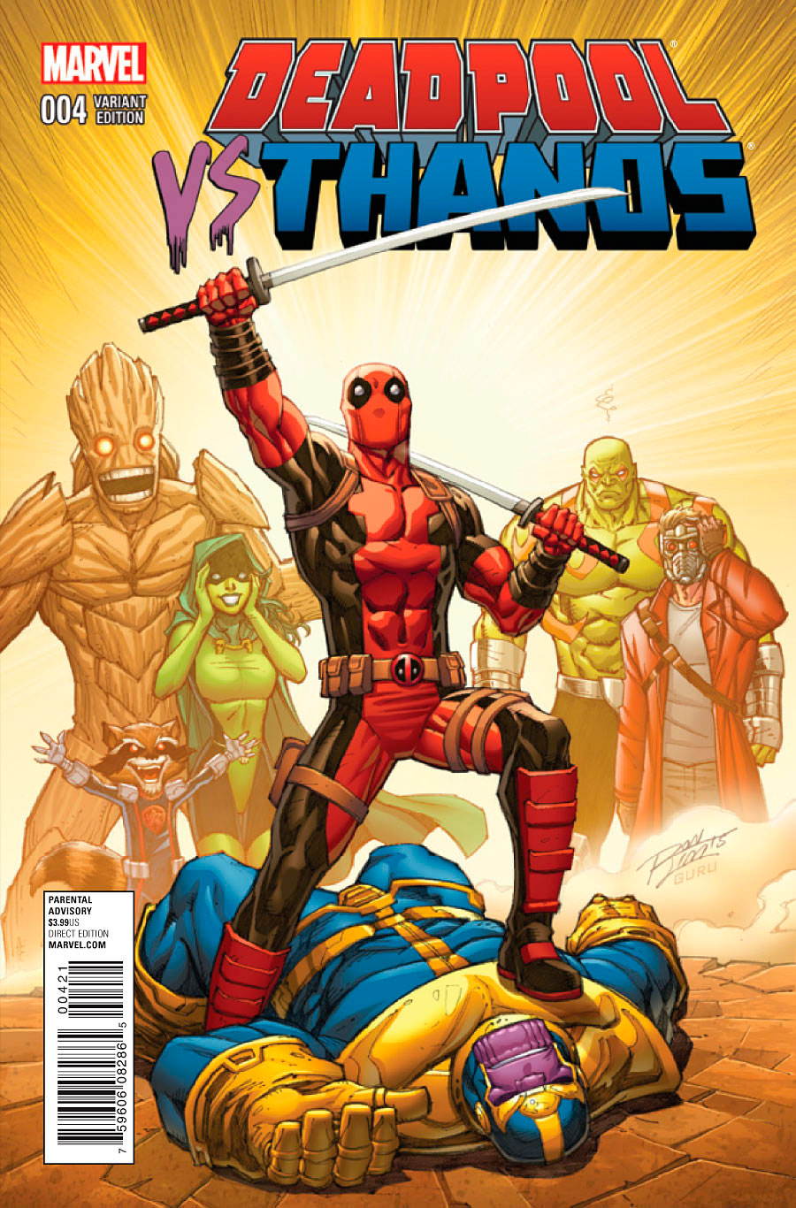 Deadpool vs Thanos 004