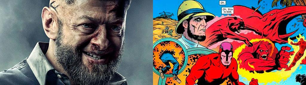 Diferença Ulysses Klaw filme e quadrinhos