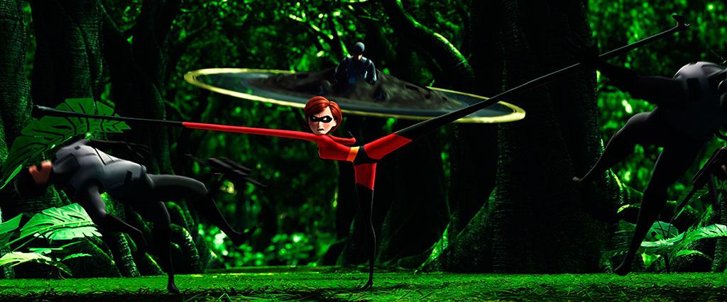 Discos voadores - Os Incríveis (2004)