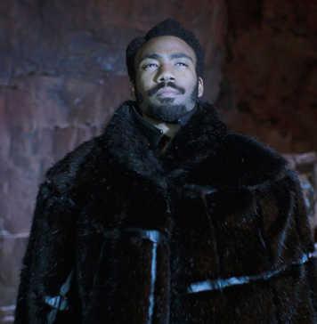 Donald Glover em Han Solo: Uma História de Star Wars (2018)