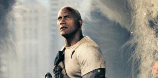 Dwayne Johnson em Rampage: Destruição Total
