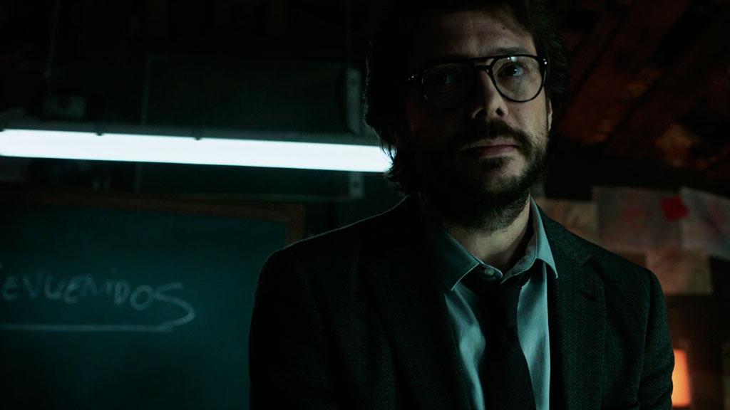 El Profesor La Casa de Papel episódio 1
