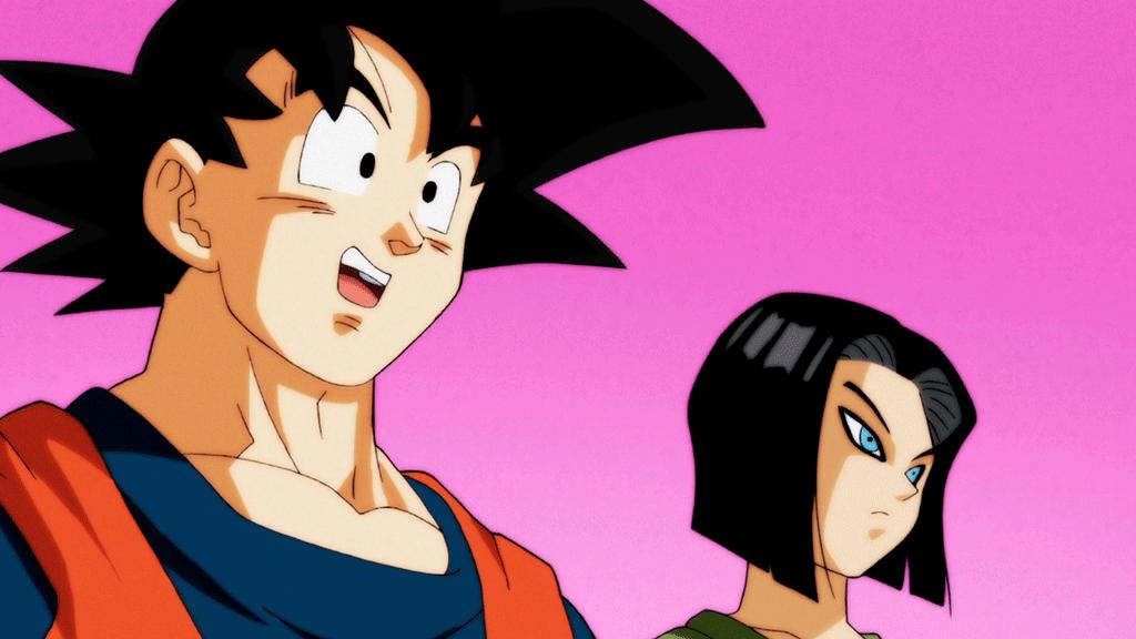 Goku e Androide 17 DBS ep. 87