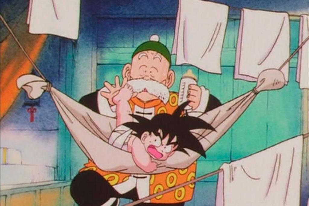 Son Gohan e Goku Dragon Ball Z (1989 - 1996)
