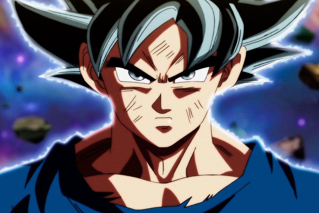 Resultado de imagem para Goku Instinto superior