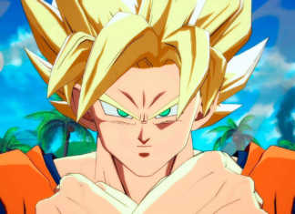 Goku super saiyajin Dragon Ball FighterZ