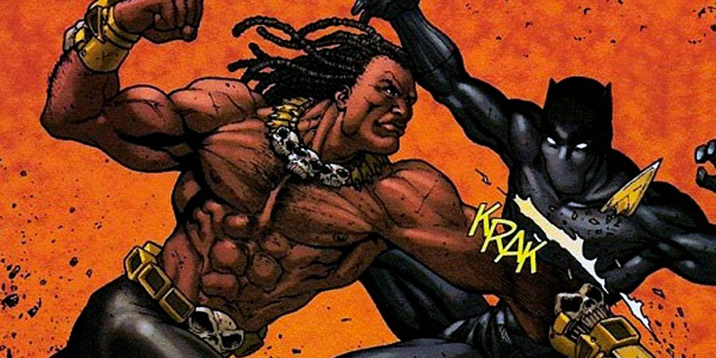 Killmonger vs Pantera Negra
