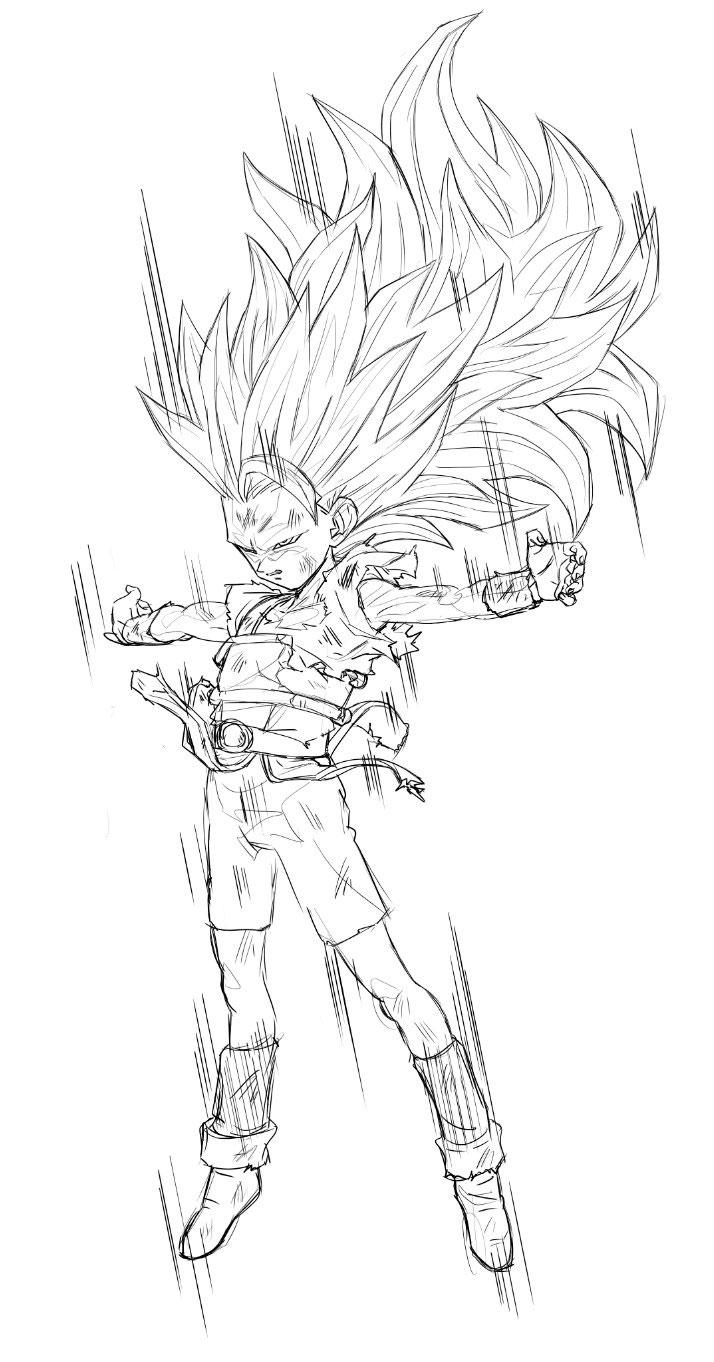 Kyabe super saiyajin 3