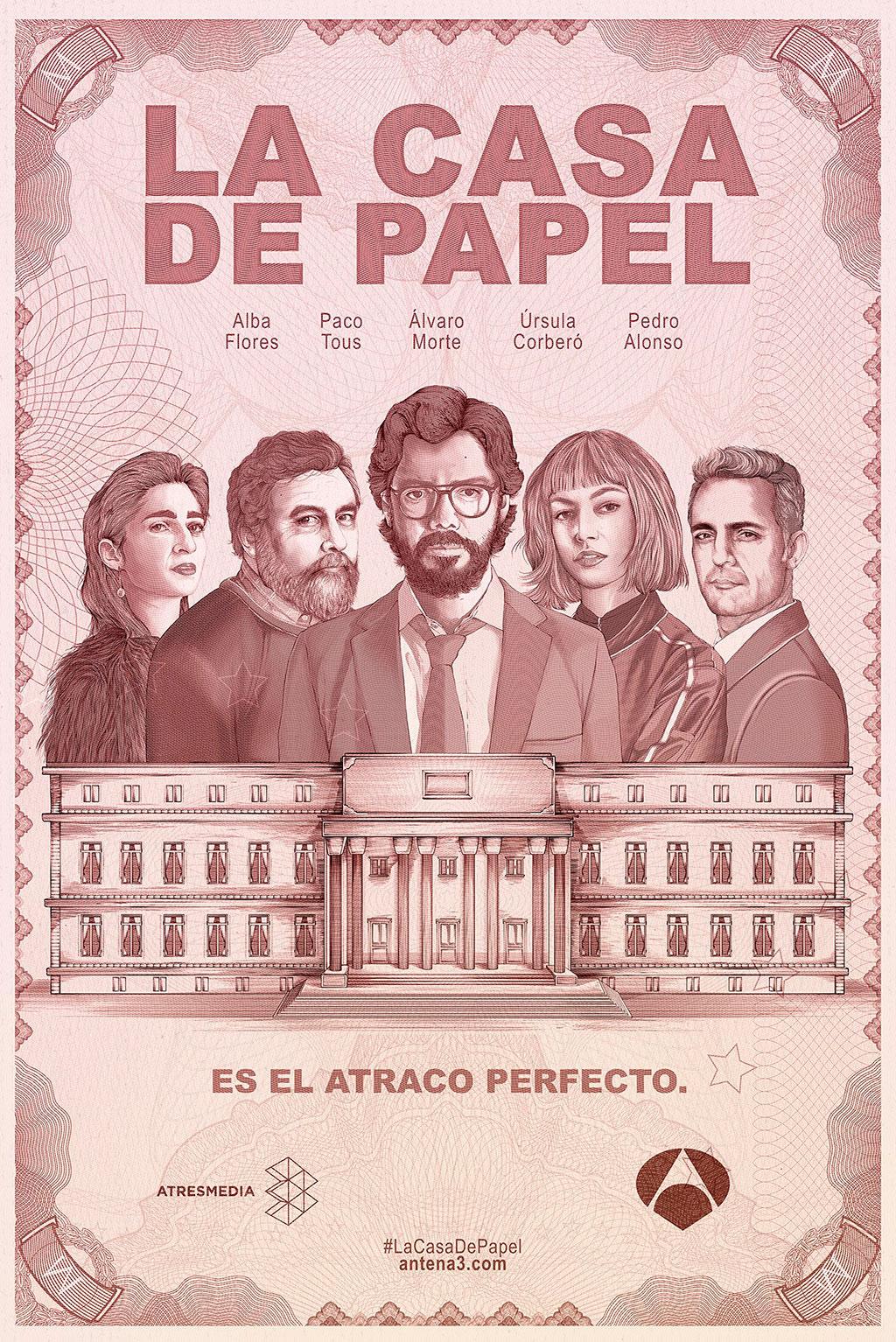 Cartaz La Casa de Papel