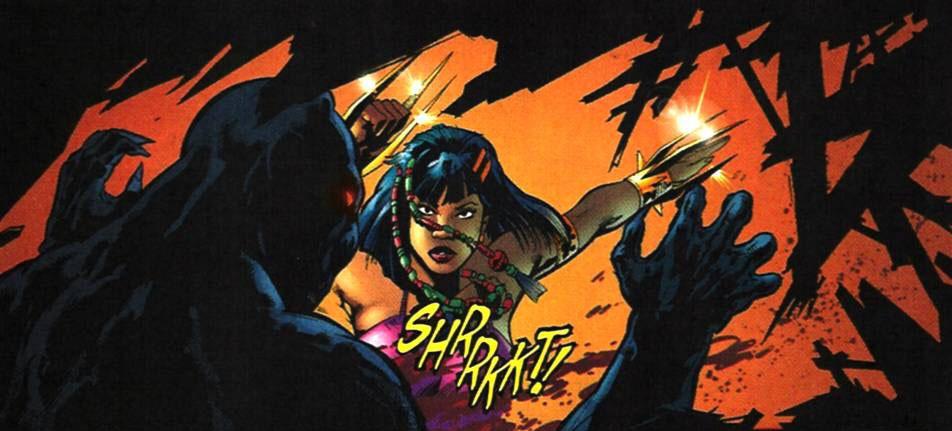 Malícia (Nakia) X Pantera Negra