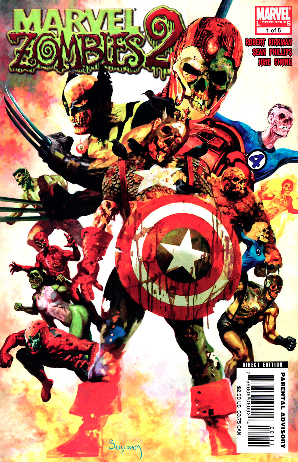 Marvel Zombies 2 vol. 1