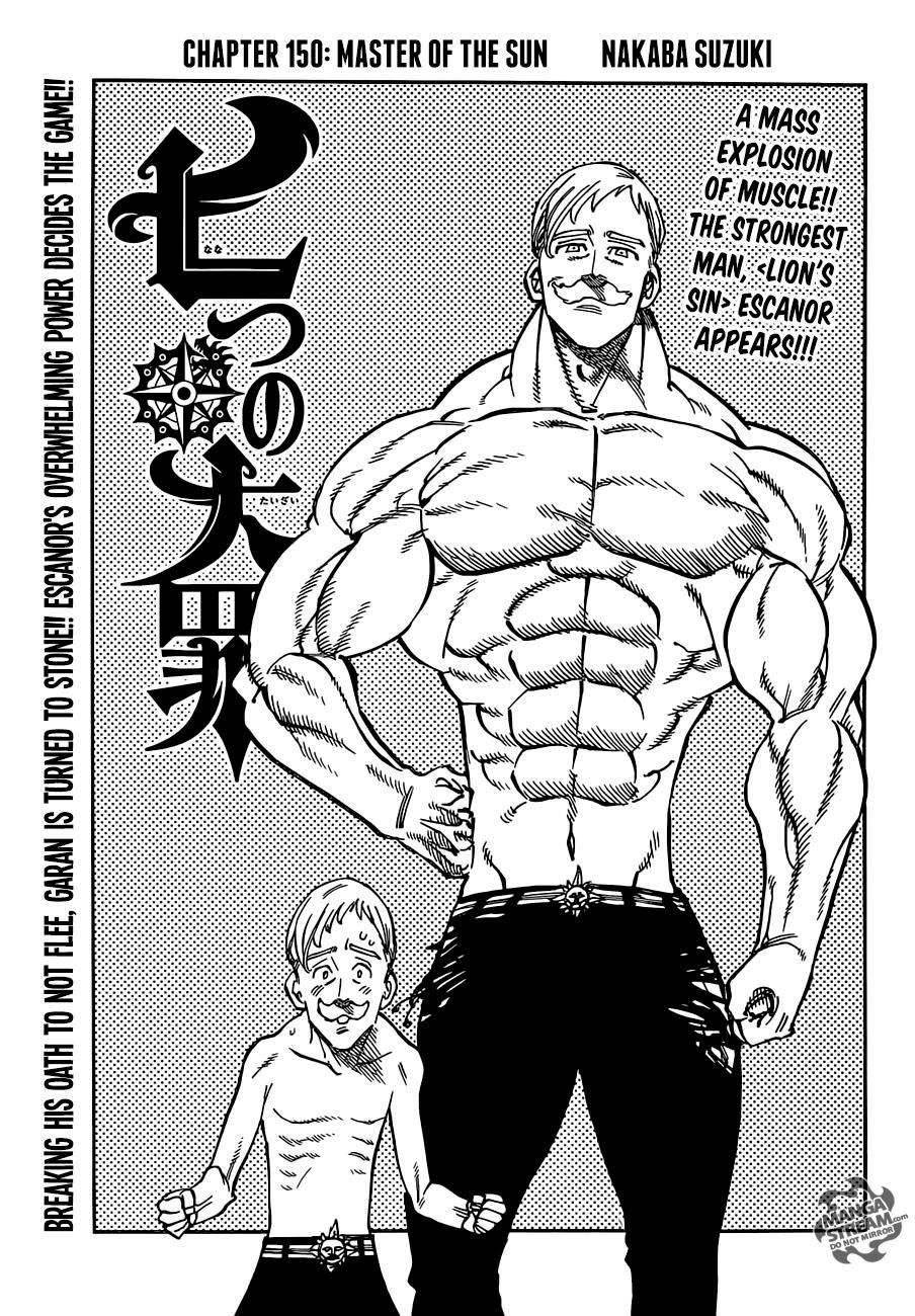Mudança física Escanor Nanatsu no Taizai