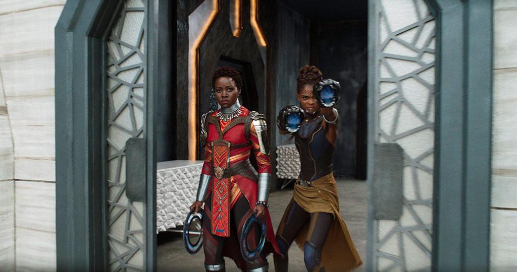Nakia e Shuri - Pantera Negra (2018)