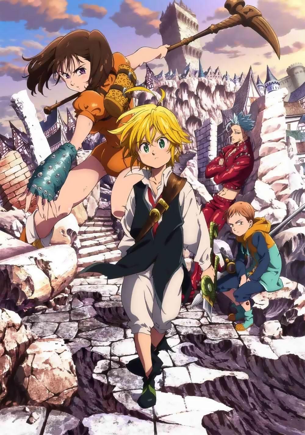 Poster Nanatsu no Taizai