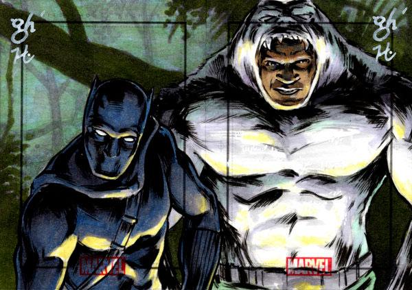 Pantera Negra e Man-Ape