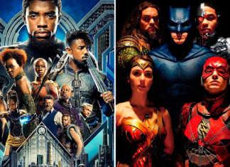 Bilheteria de Pantera Negra ultrapassa a de Liga da Justiça nos EUA