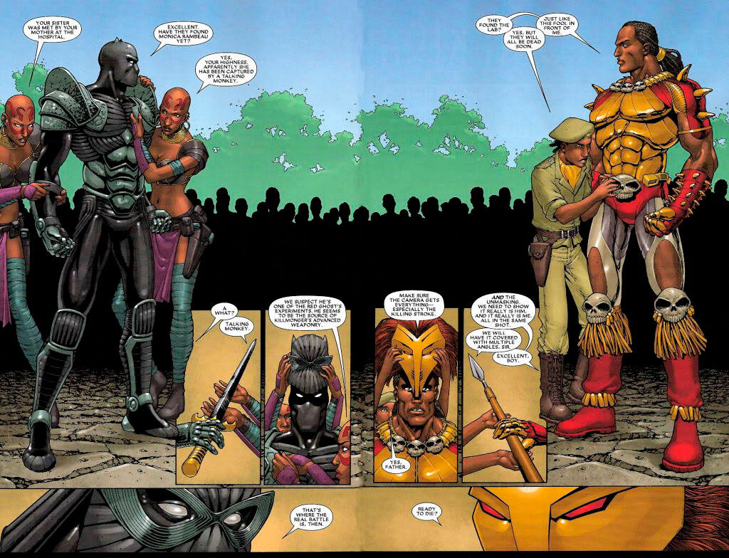 Pantera Negra x Erik Killmonger