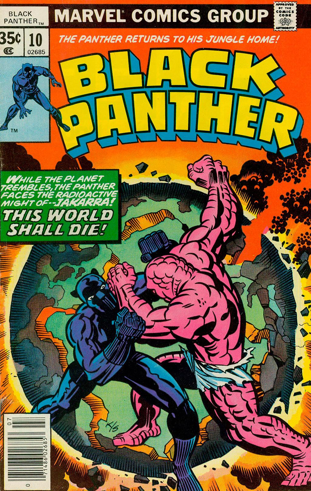 Pantera Negra x Jakarra Black Panther #10