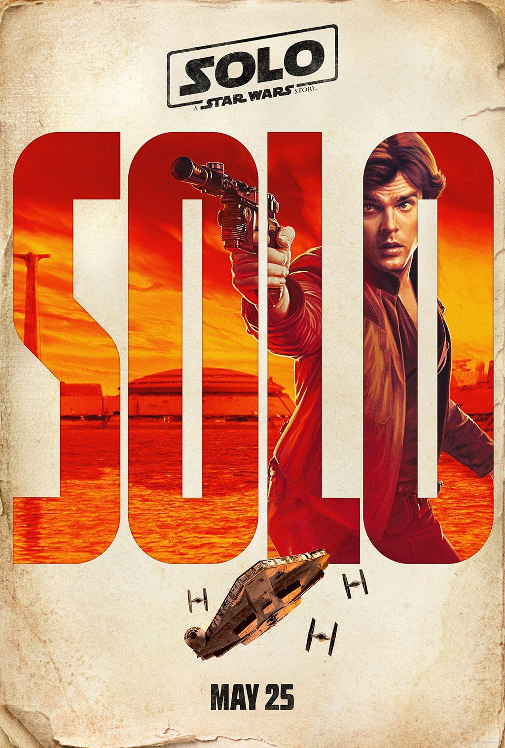 Poster Han Solo: Uma História Star Wars