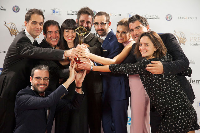 Premios IRIS 2017 La Casa de Papel