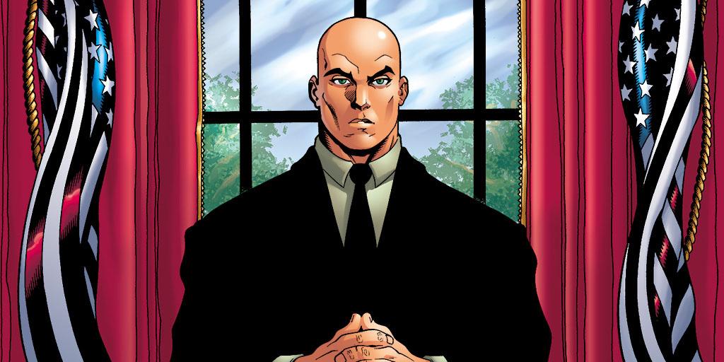 Lex Luthor presidente dos Estados Unidos
