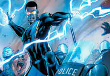 Raio Negro DC Comics