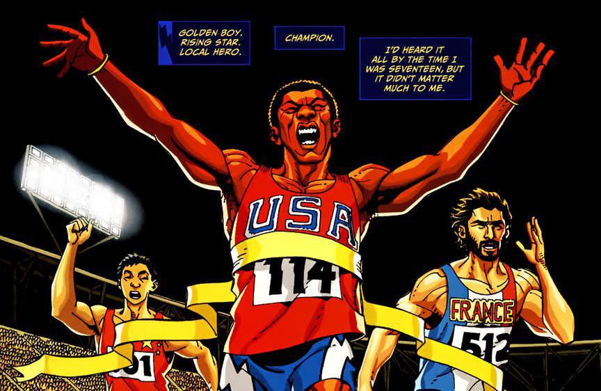 Jefferson Pierce medalha de ouro nas Olimpíadas