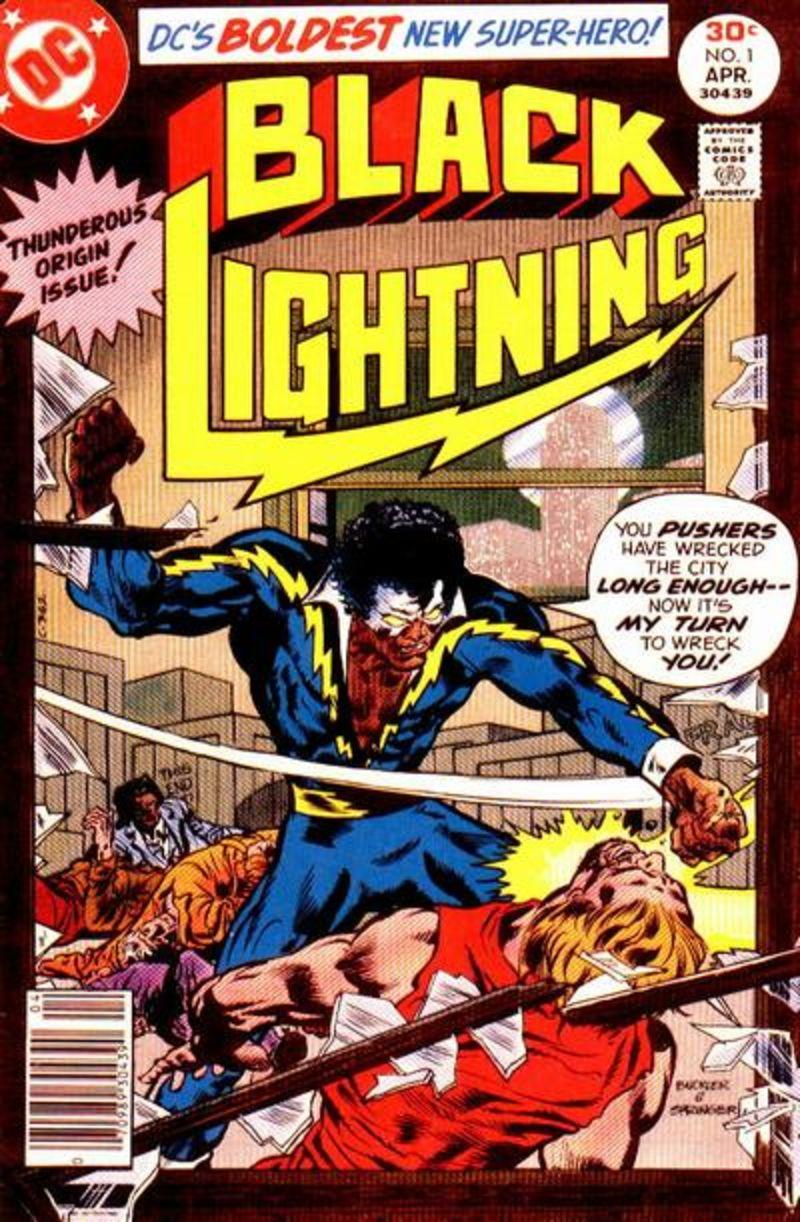 Primeira capa dos quadrinhos do Raio Negro