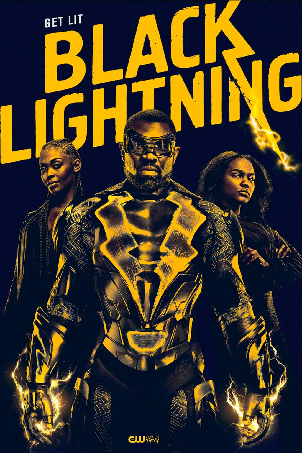 Poster Raio Negro CW
